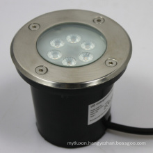 Outdoor lighting IP67 7w recessed led inground light uplight in 12V 60degree